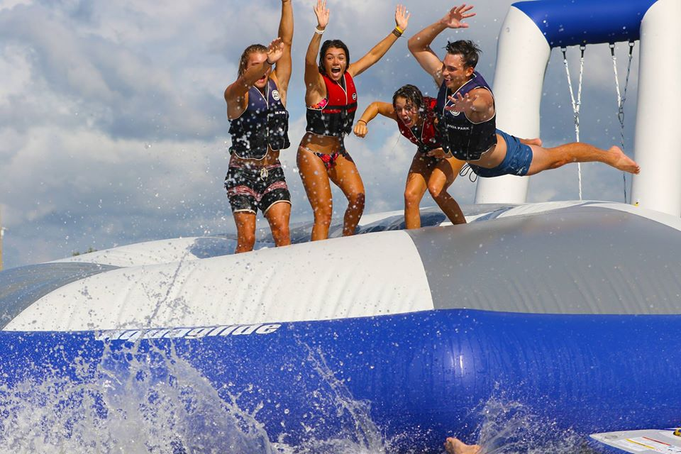 GC Aqua Park Southport Now Open Near Our Broadwater Accommodation